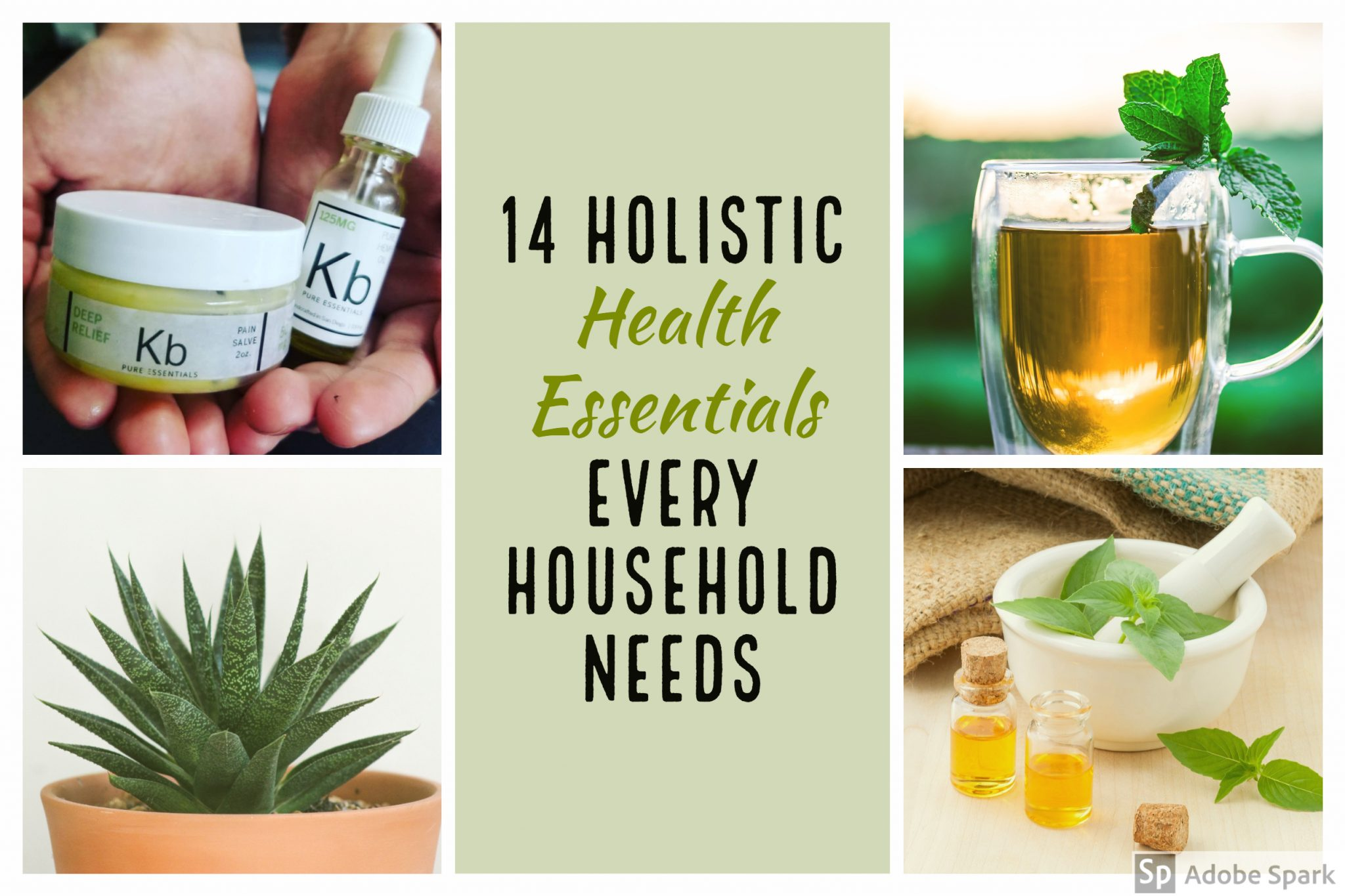 14 Holistic Health Essentials